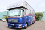 AUTOMATIC 09 SOLITAIRE HORSEBOX.