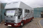 VERY SPACIOUS FULL LIVING IVECO 7.5T HORSEBOX FOR SALE