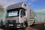 COACHBUILT MAN 7.5T FULL LIVING HORSEBOX