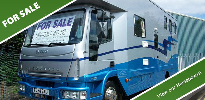 Used Horse Boxes UK