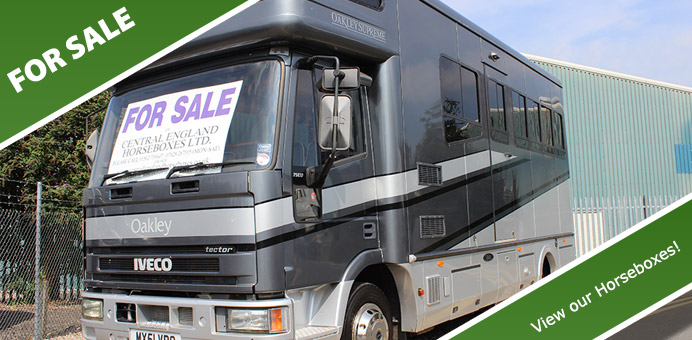 Horseboxes for sale worcestershire uk retailer