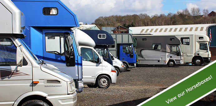 Huge Selection of Used Quality Horseboxes