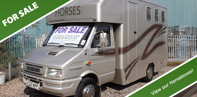 Used Horse Boxes For Sale UK