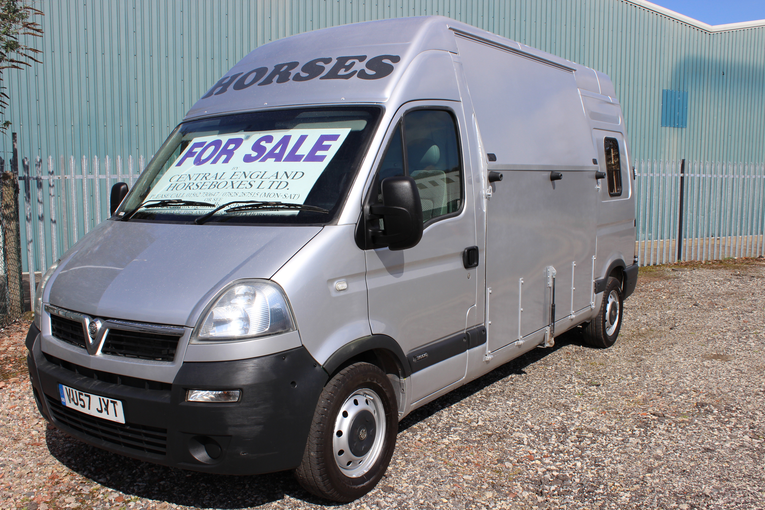 3.5t horsevan for sale