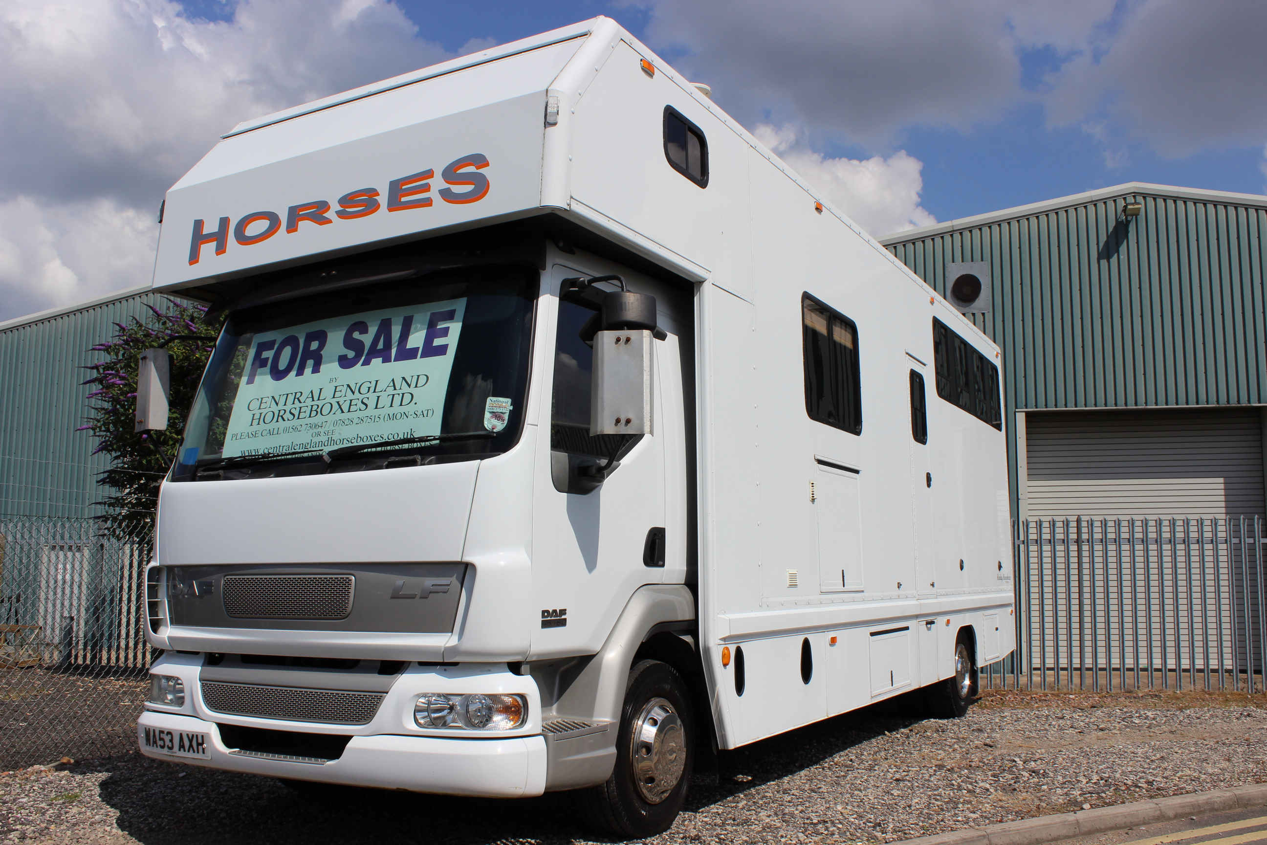 12t Horsebox For Sale 3 Stall Compact Daf Central England