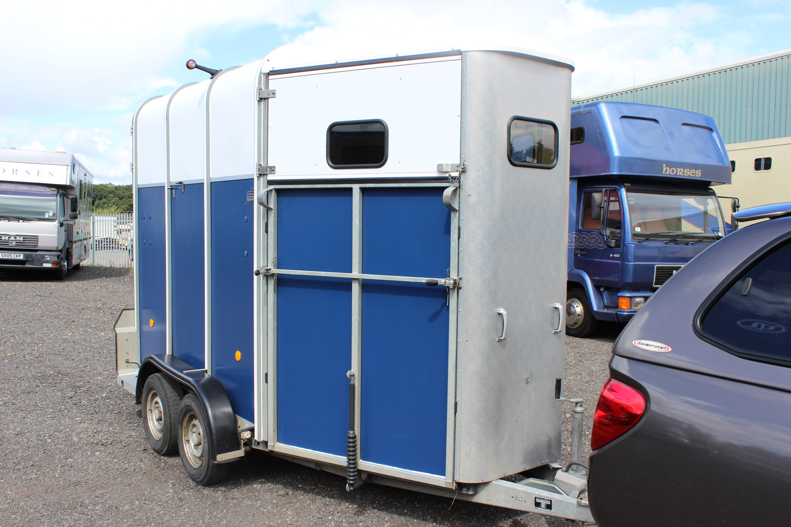ifor williams hb510 horse trailer for sale kidderminster worcestershire. Black Bedroom Furniture Sets. Home Design Ideas