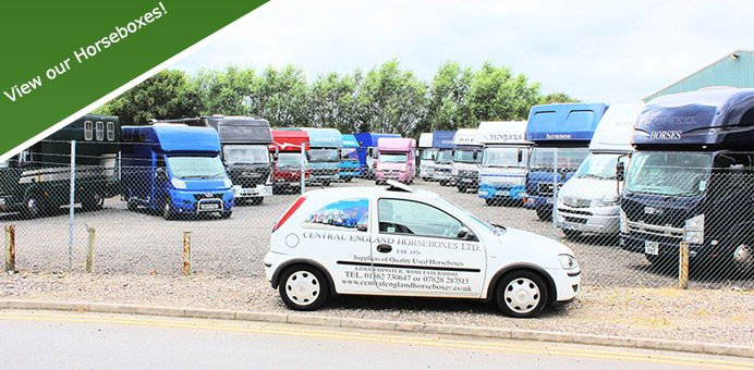 Horseboxes for Sale Midlands