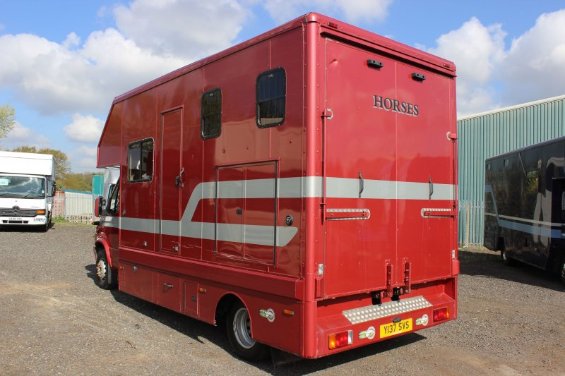 6 5 Ton Chadwick Horsebox For Sale By Central England