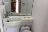 8.6t horsebox bathroom