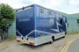 prestige horsebox rear