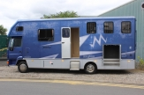 prestige horsebox side