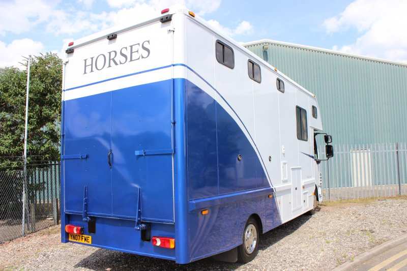 Automatic Horsebox For Sale At Central England Horseboxes