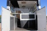 eventing horsebox horse area