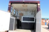bronze horsebox horse area