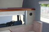 forward facing horsebox bed