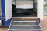forward facing horsebox open