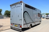 challenger horsebox rear