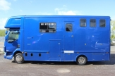 hunter horsebox side shot
