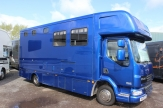 hunter horsebox side