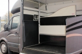 sprinter horsebox inside