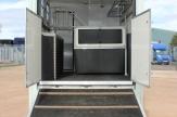 mint horsebox ramp open
