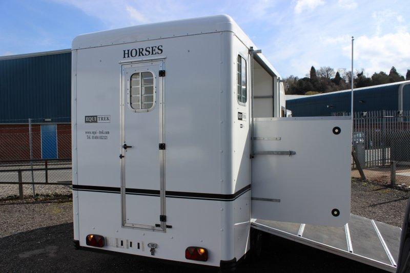 Equitrek Show Treka L Central England Horseboxes