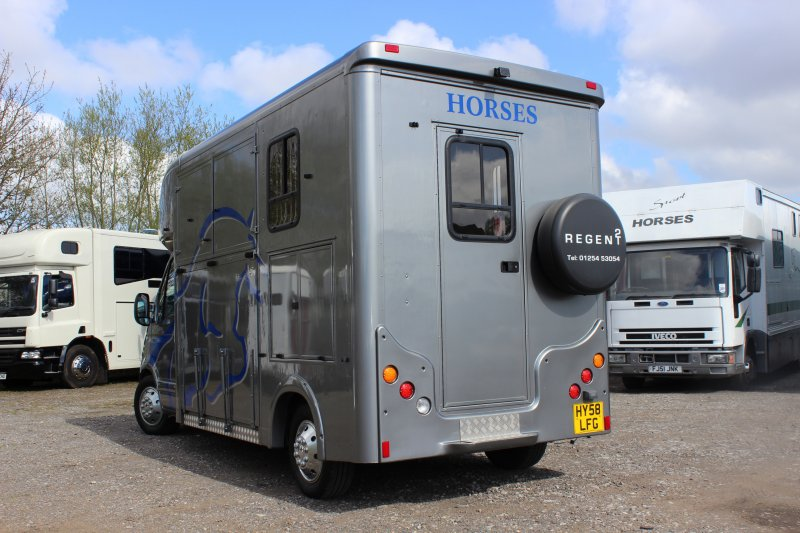3 5 Ton Renault Master Horsebox For Sale Central England