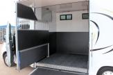 luxury horsebox open