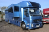 volvo horsebox front slide out
