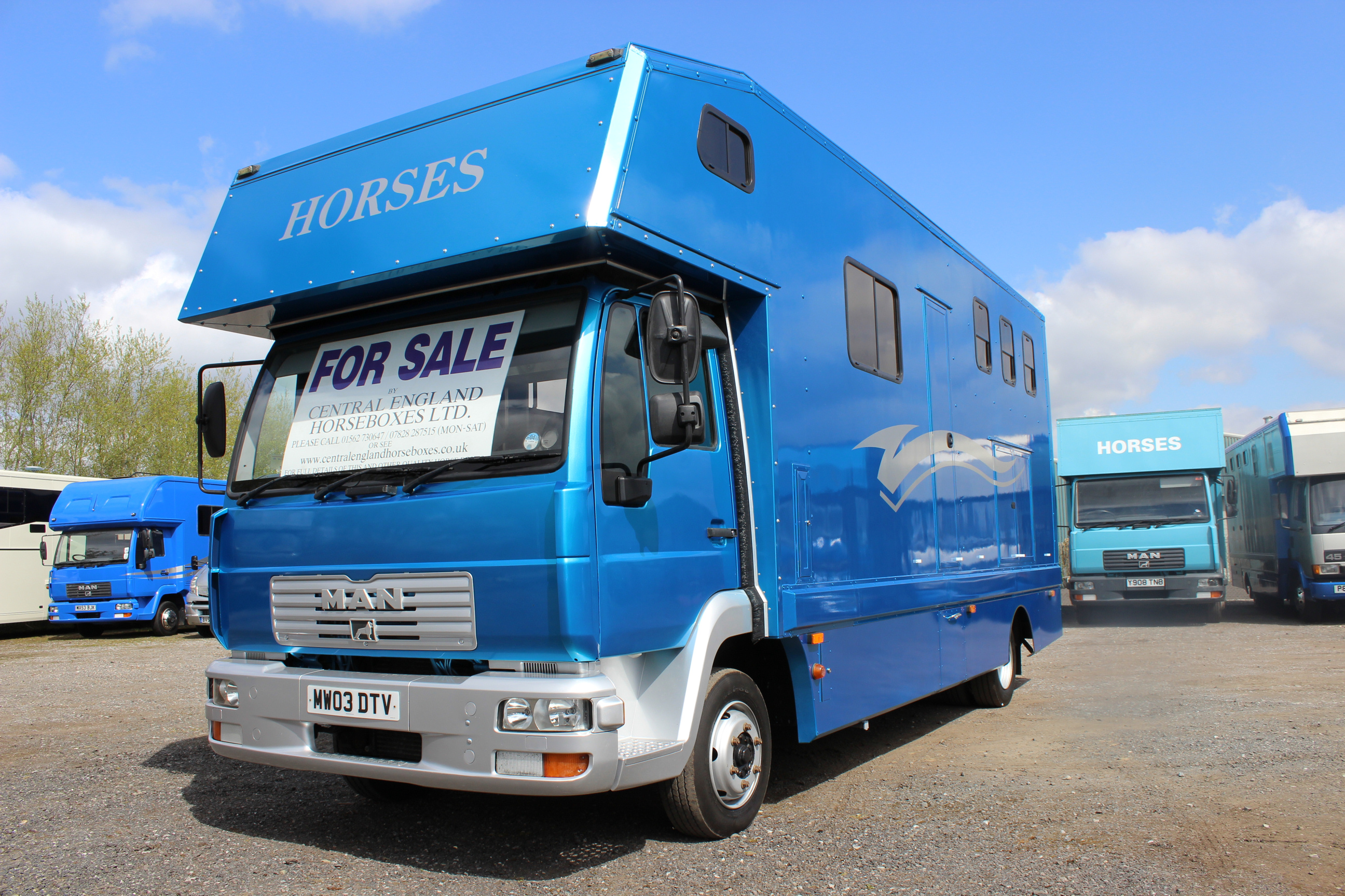 New Conversion 7 5t Man Horsebox Sale Horseboxes For