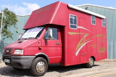 used 6.5t coachbuilt horsebox.