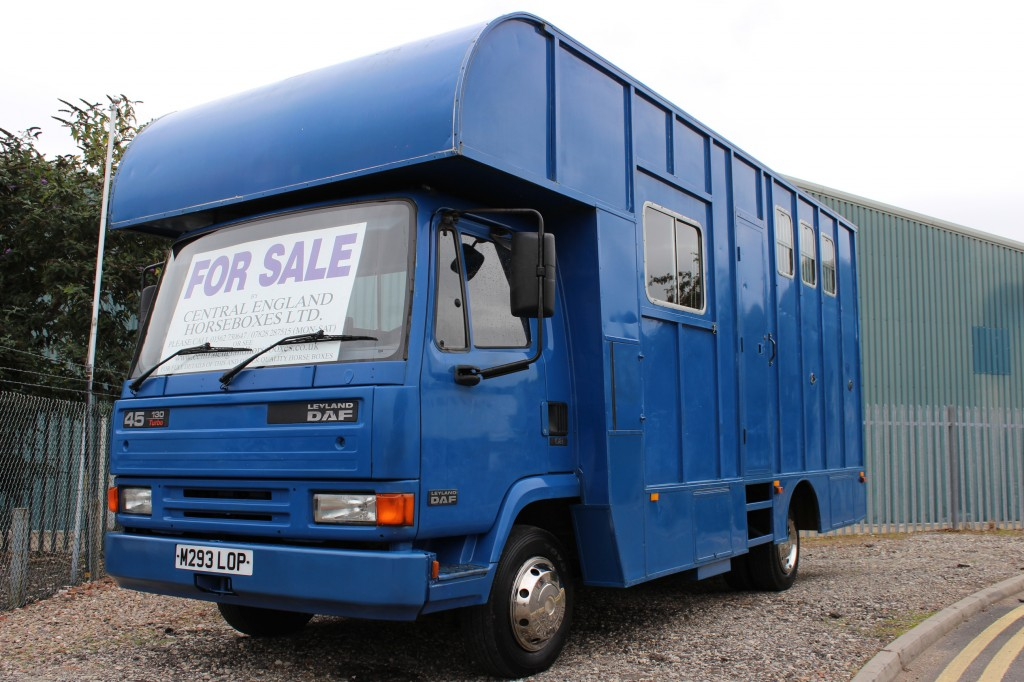 Daf Horseboxes For Sale Horsebox Bargains Kidderminster