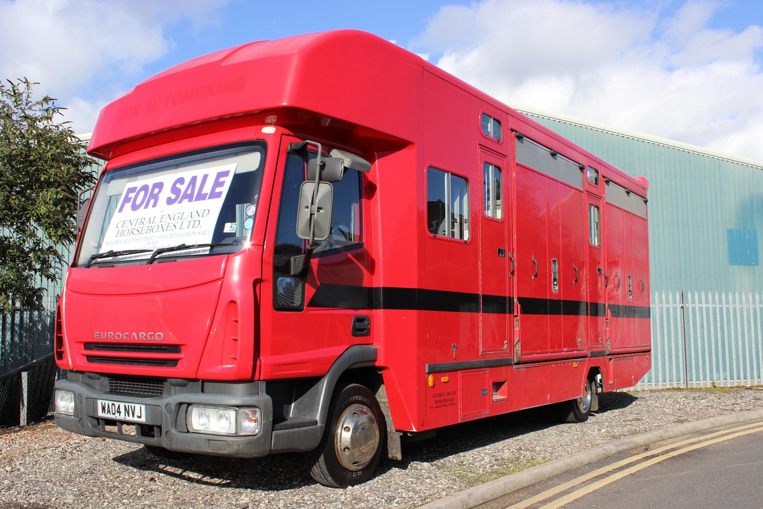 George Smiths 4 Stall Racing Box On 04 Eurocargo George Smi