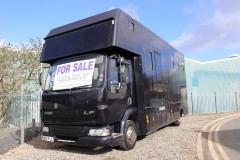 COMPACT DAF LF HORSEBOX FOR SALE