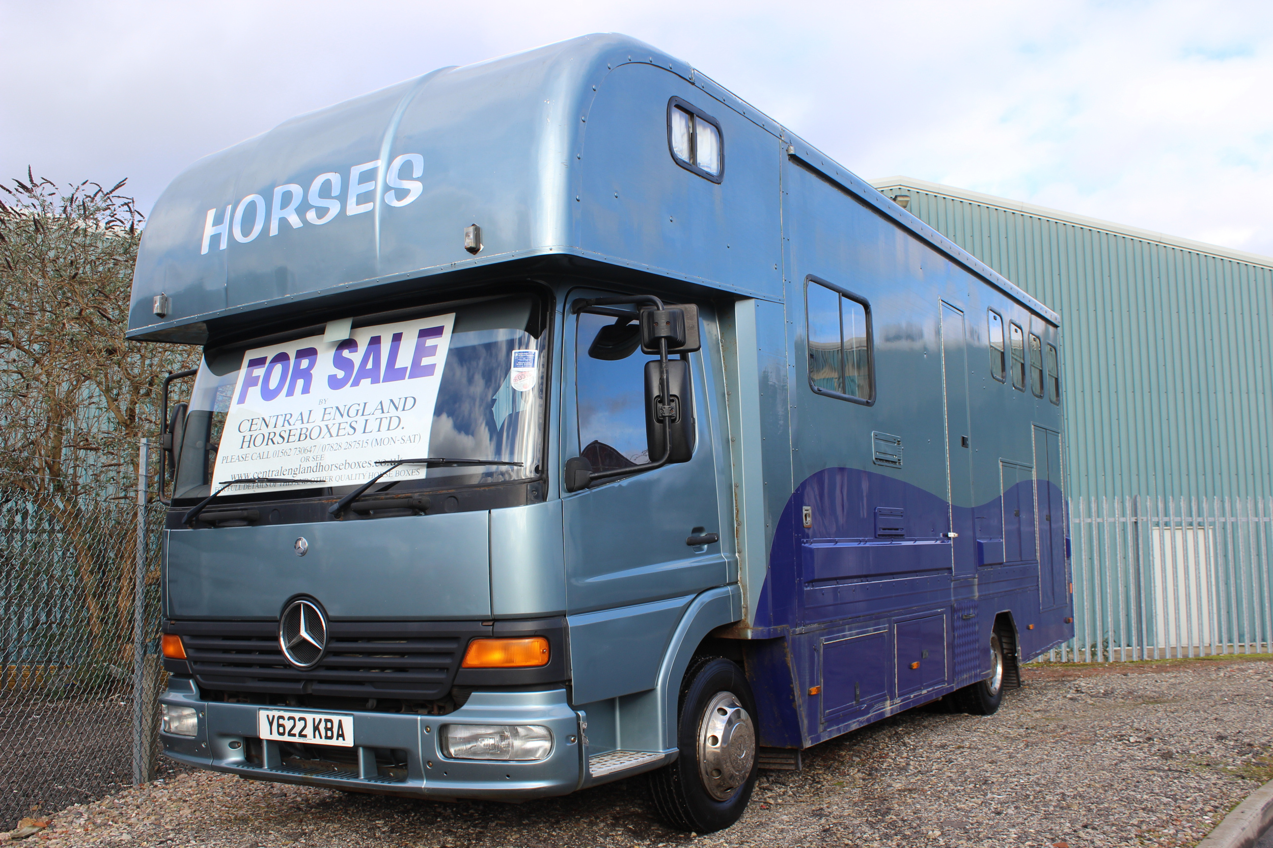 Luxury Mercedes 7 5t Horsebox For Sale Central England Horseboxes