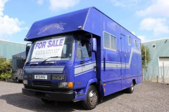 Coach Built DAF 7.5 ton horsebox for sale.