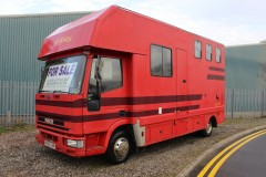 Compact 7.5t 3 stall Horsebox