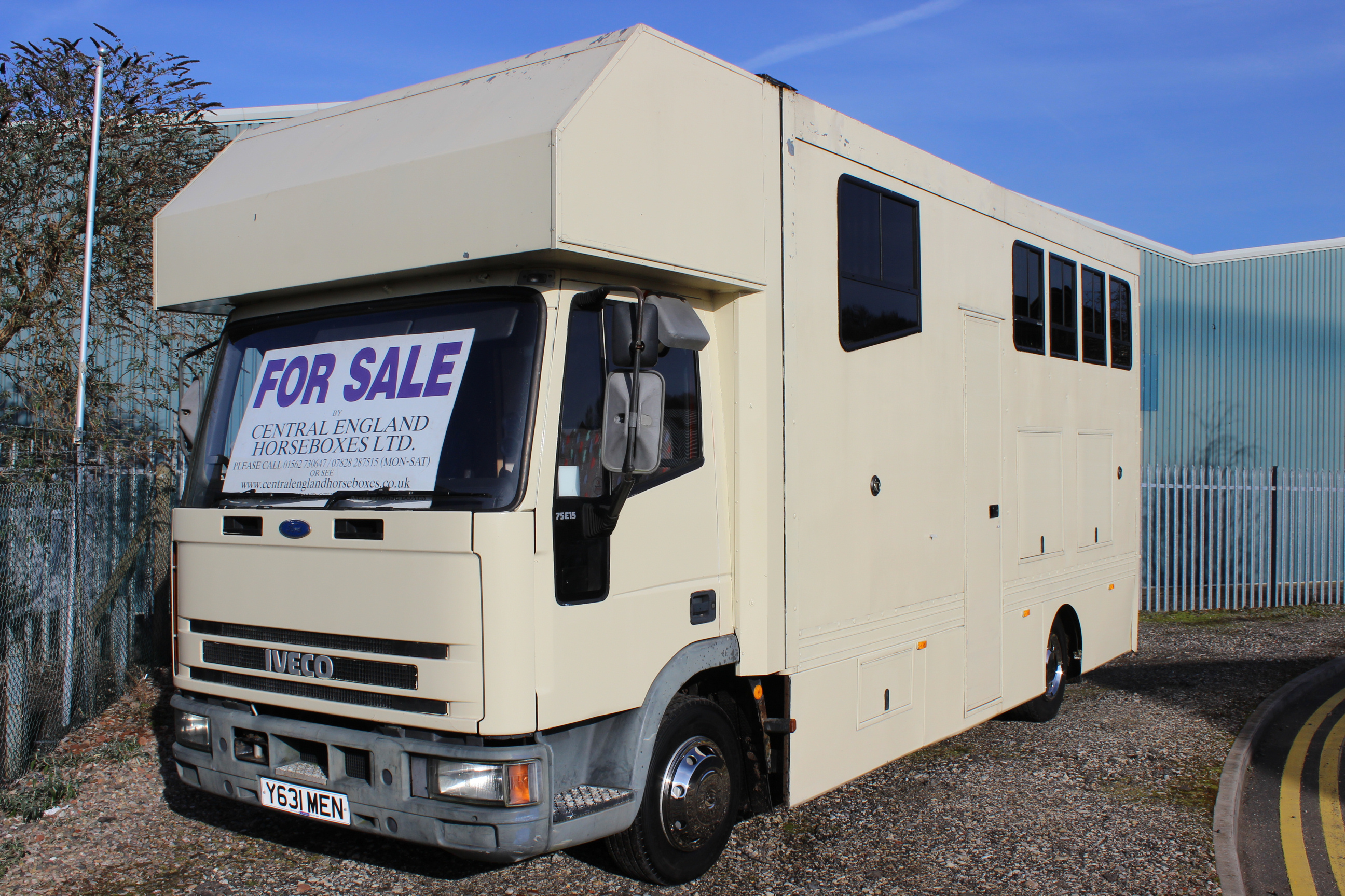 7 5t 3 Stall Iveco Horsebox For Sale By Central England