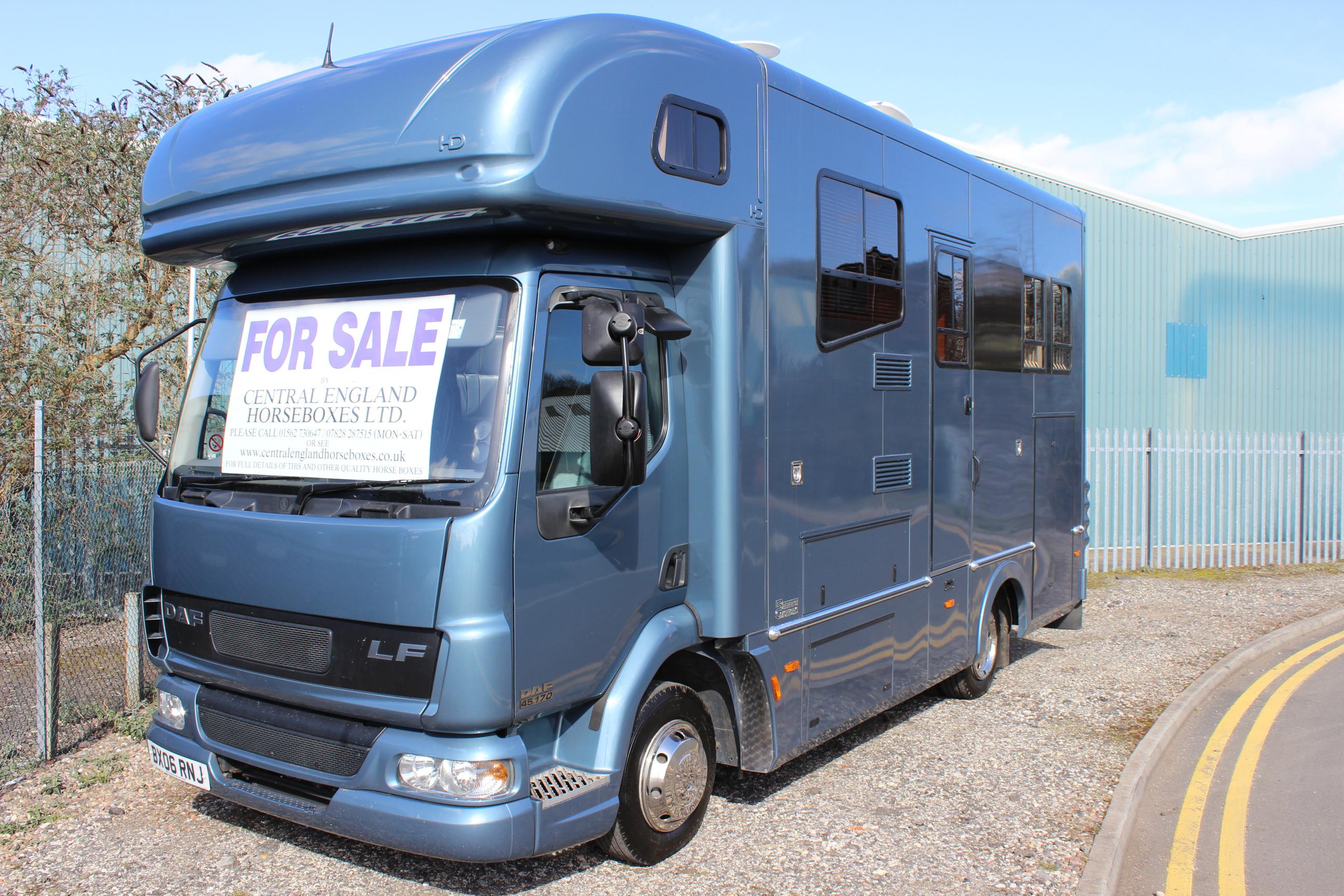 Compact Bretherton Luxury Horsebox For Sale