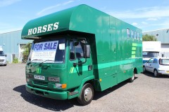 Coachbuilt 4 stall 7.5t with over 2t payload