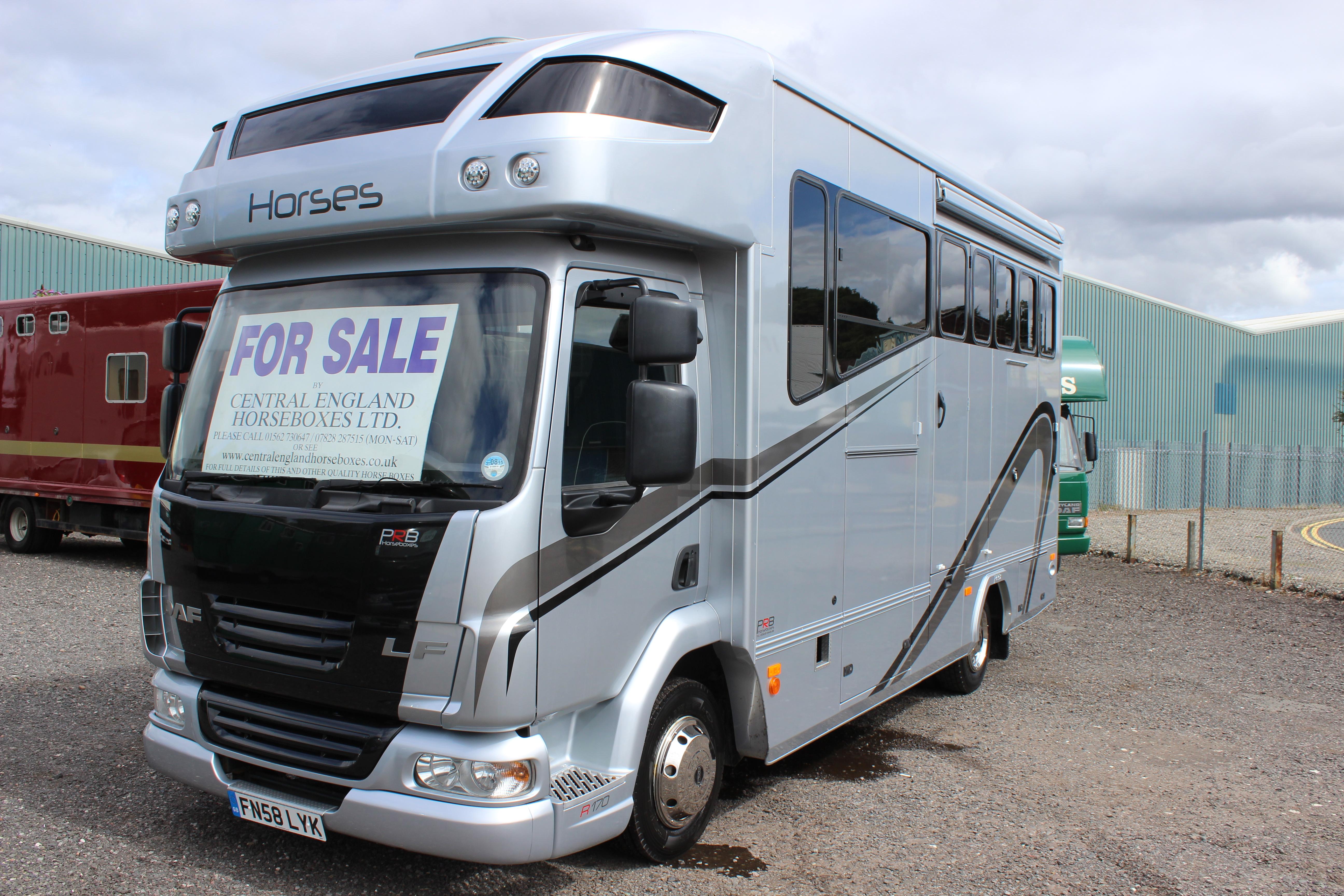 Luxury Prb R170 7 5t Horsebox For Sale Euro 4 Compliant