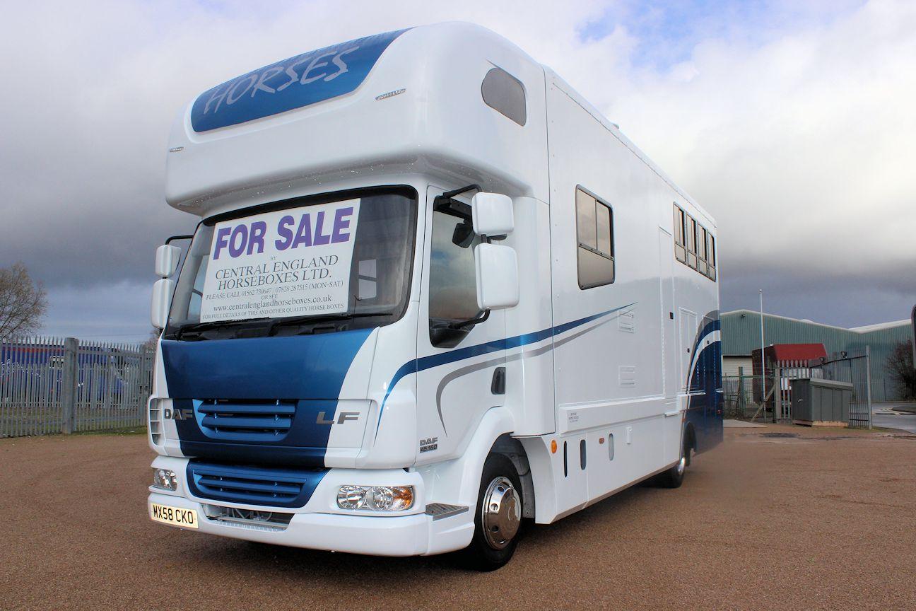 Stunning New Build Mcphie 7 5t Horsebox For Sale Kidderminster