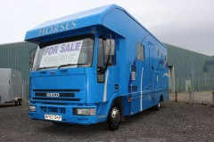 3 Stall Horsebox with Full Living