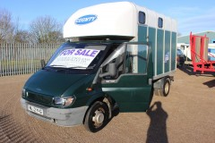 Ifor Williams Transit 3.5t Horsebox