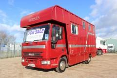 Coach built 7.5t Iveco Horsebox