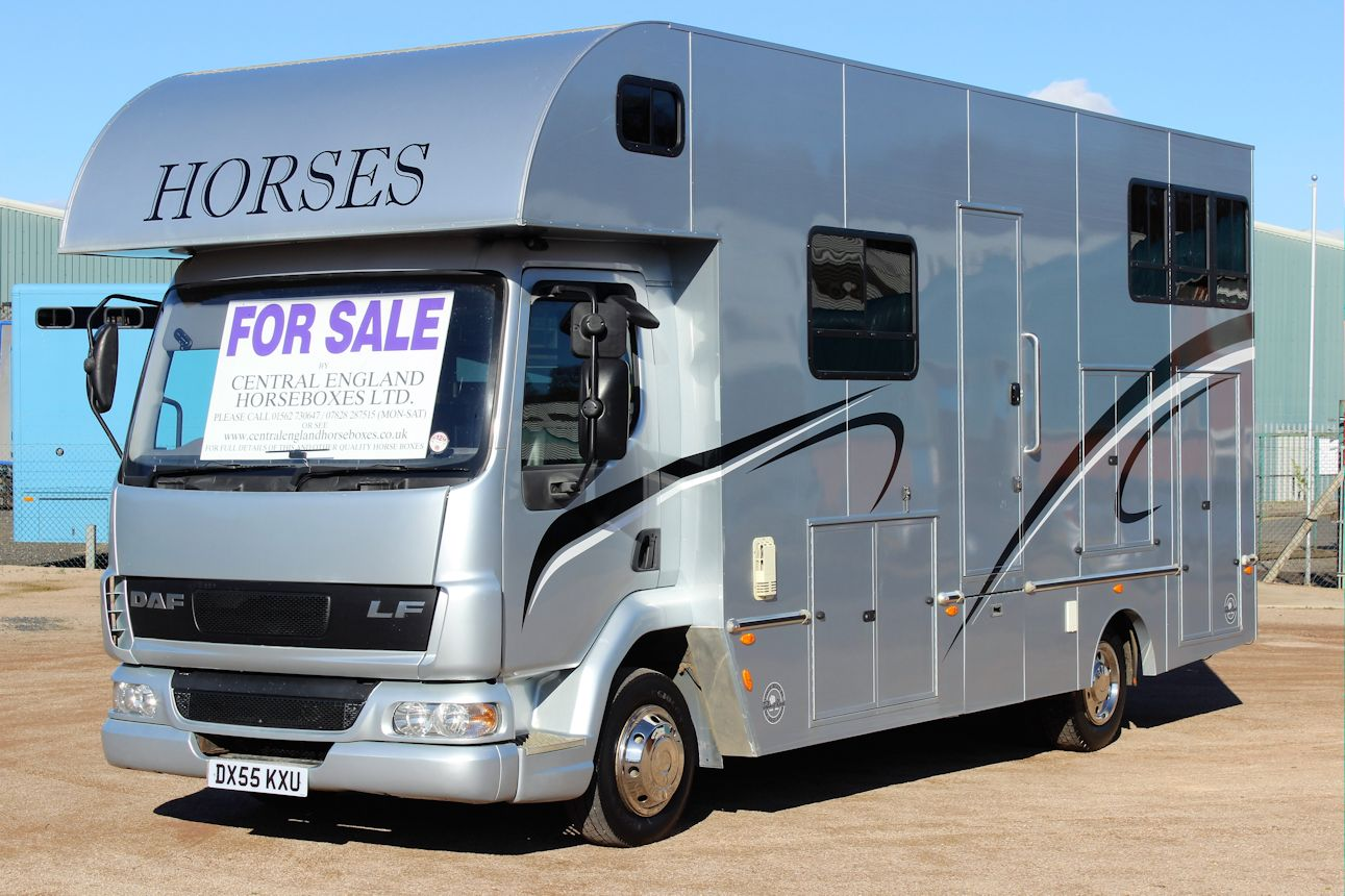 John Rose 7 5t Horsebox Central England Horseboxes