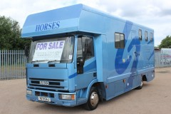 Iveco 3 stall horsebox