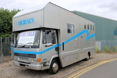 DAF horsebox full living