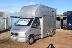 Vauxhall Movano 3.5t Horsebox