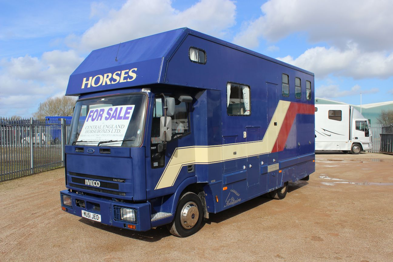 Solitaire Horsebox Central England Horseboxes